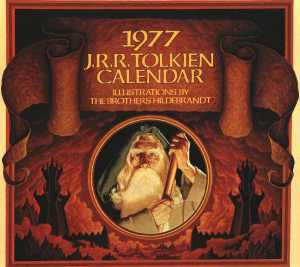 tolkien calendar 1977