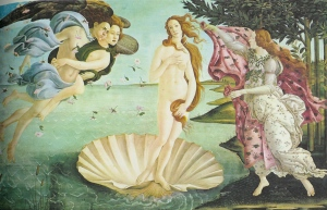 Botticelli, The Birth of Venus c. 1484