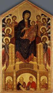 Cimabue Maesta, ca. 1280-1290