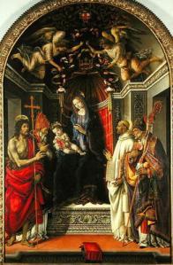 Lippi Madonna with Child and Saints, c. 1486