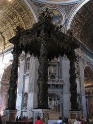 High altar at St. Peter's