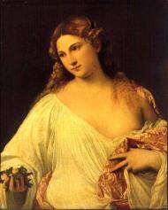 Flora--Lovely, isn't she?