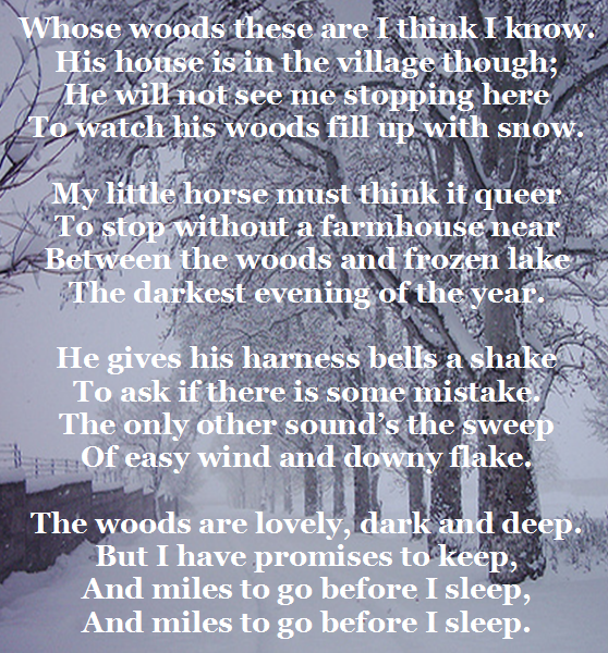 Stopping by the Woods for Christmas Beth Warstadt : stopping by the woods from bethwarstadt.com size 558 x 600 png 625kB