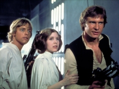Han Luke and Leia
