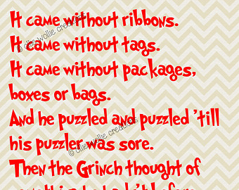 Christmas Grinch Quotes.Day 5 Mr Grinch Beth Warstadt