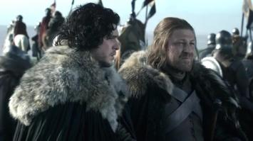 Game of Thrones Ned and Jon
